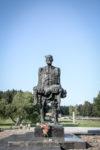 Chatyns begravningsplats i Minsk Vitryssland